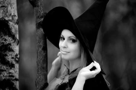 witch in the woods Stock Photo - 12052899