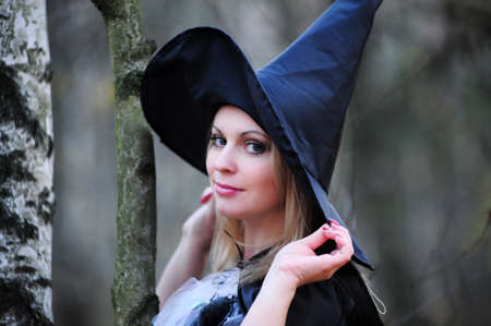 witch in the woods Stock Photo - 12052926