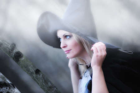 witch in the woods Stock Photo - 12052901