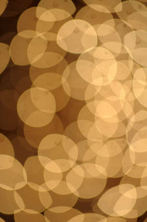 Sunny Yellow  bokeh background made from white lights Stock Photo - 13280951