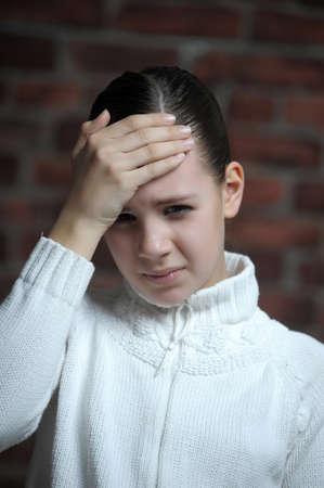 pained: Headache - Pain