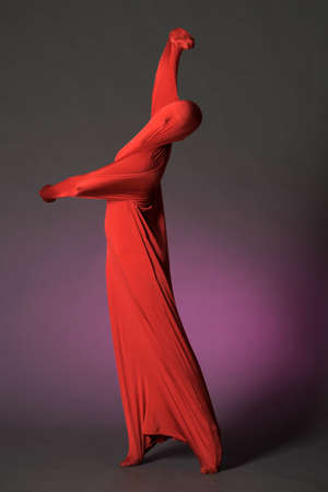 Abstract dancing figure Stock Photo - 13236696
