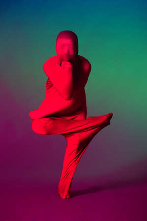 Abstract dancing figure Stock Photo - 12676601