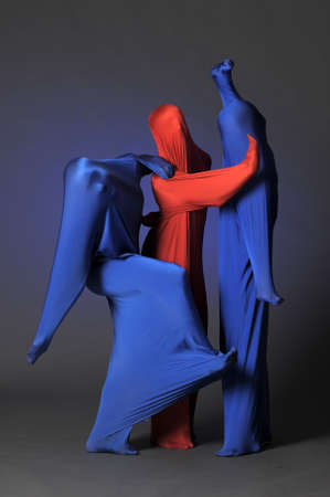 three abstract human figures Stock Photo - 13342803