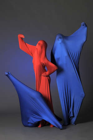 three abstract human figures Stock Photo - 13342809