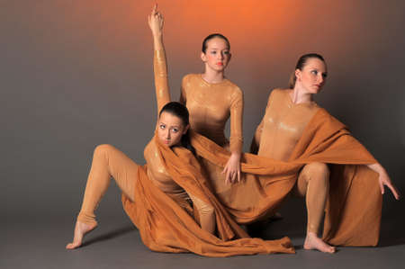 supple: three dancers