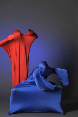 two abstract figures Stock Photo - 13252187