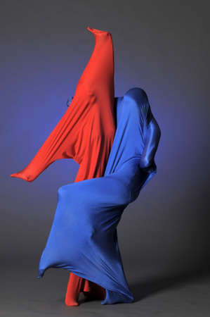 two abstract figures photo