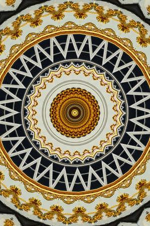 floor mat: kaleidoscope brown