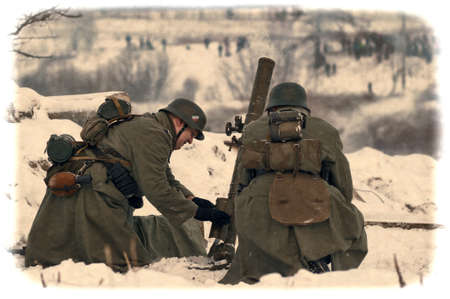 Reconstruction of a major military operation of the Leningrad Front - The January Thunder,  lifting of the blockade of Leningrad.