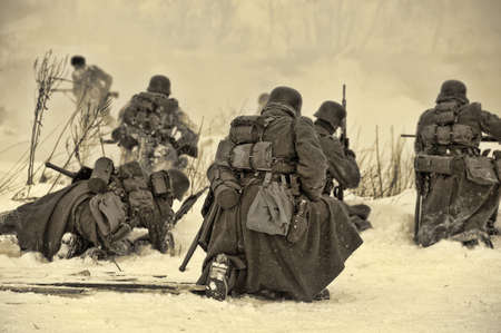 dismounted: Reconstruction of a major military operation of the Leningrad Front - The January Thunder,  lifting of the blockade of Leningrad.