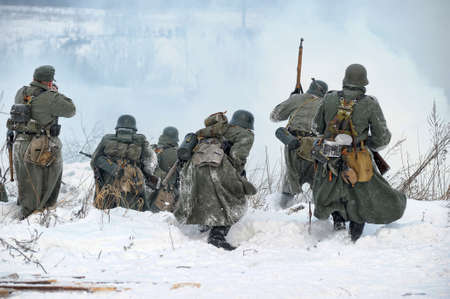 greatcoat: Reconstruction of a major military operation of the Leningrad Front - The January Thunder,  lifting of the blockade of Leningrad.