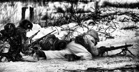 Reconstruction of a major military operation of the Leningrad Front - The January Thunder,  lifting of the blockade of Leningrad.