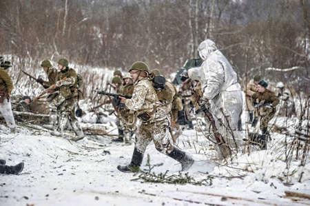 german fascist: Reconstruction of a major military operation of the Leningrad Front - The January Thunder,  lifting of the blockade of Leningrad.