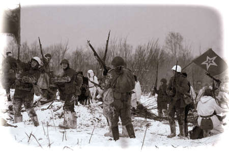 wehrmacht: Reconstruction of a major military operation of the Leningrad Front - The January Thunder,  lifting of the blockade of Leningrad.