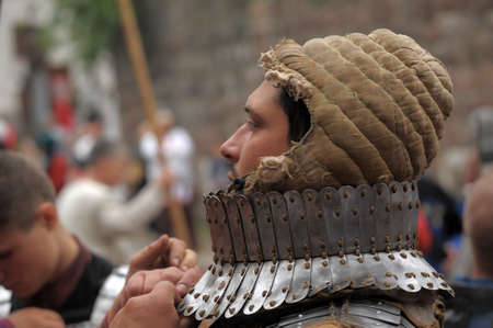 squire: in Vyborg Castle, the annual International Festival of Military History connoisseurs and lovers of the Middle Ages, Knight