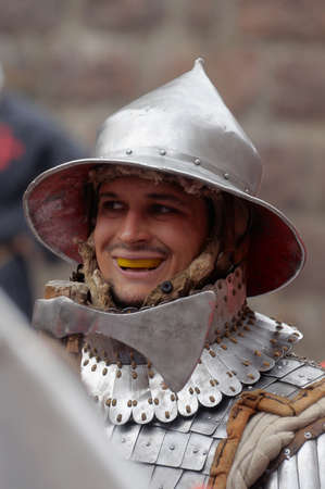 in Vyborg Castle, the annual International Festival of Military History connoisseurs and lovers of the Middle Ages, Knight