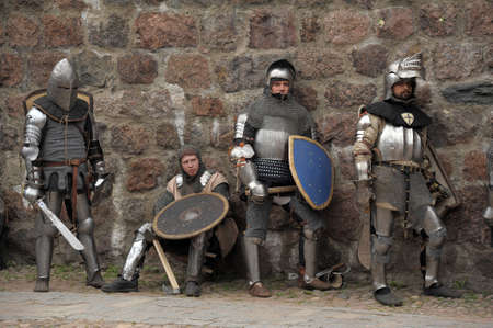 in Vyborg Castle, the annual International Festival of Military History connoisseurs and lovers of the Middle Ages, 'Knight