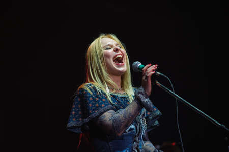 kokoshnik: The Russian rock festival  Performance of a star popular fate - Pelageja
