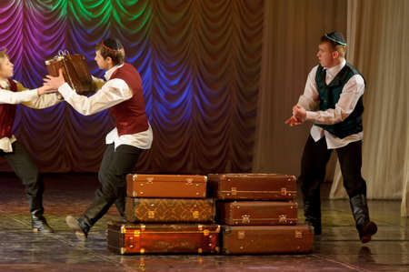 choreographic: The Jewish dance. Festival of children