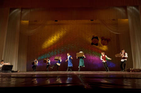 children's: Jewish dance performed by children s dance group, St  Petersburg, Russia