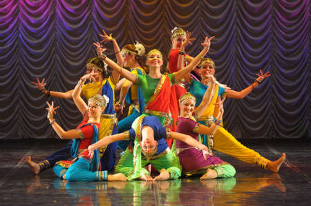 the Indian classical dance Éditoriale