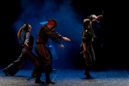 choregraphy: performance of children