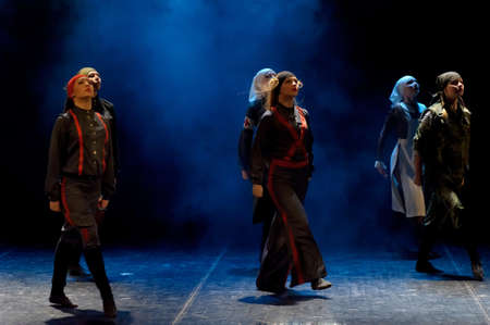 choreographic: performance of children
