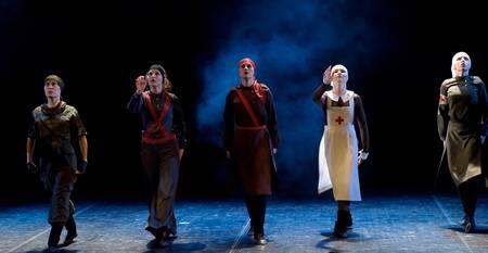 fanatical: Russia, St -Petersburg, performance of children