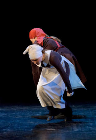 choregraphy: Russia, St.-Petersburg, performance of children
