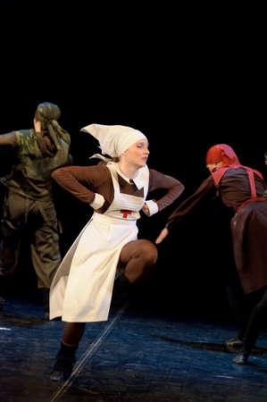 Russia, St.-Petersburg, performance of children Stock Photo - 12944079