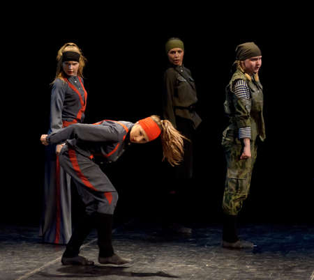 choreographic: Russia, St.-Petersburg, performance of children