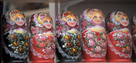 Russian nesting dolls  photo