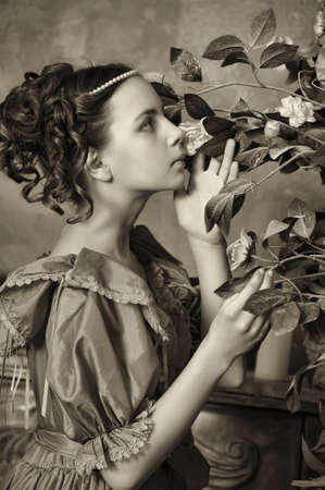 antique woman: Victorian Lady Young