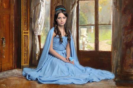 old dame: Giovane donna victorian