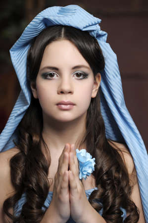 Young victorian lady Stock Photo - 14494748