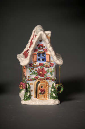 Ceramic Christmas small house photo
