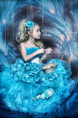 Winter princess photo