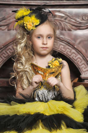 Beautiful little girl photo
