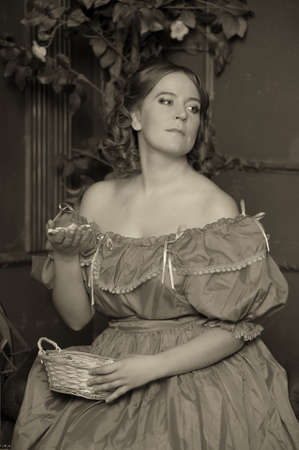 the lady of the Victorian era  photo
