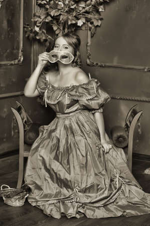 la dama de la �poca victoriana photo