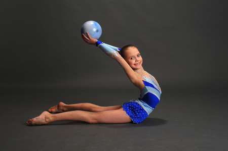 Young gymnast Stock Photo - 13147050