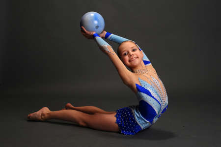 Young gymnast Stock Photo - 13147051