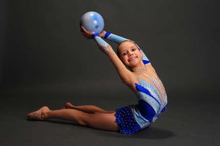 Young gymnast Stock Photo - 13147051