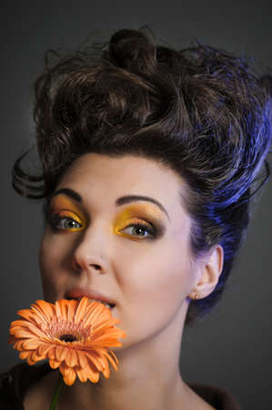Flower Woman photo