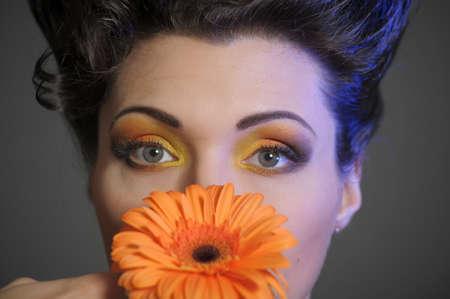 Flower Woman Stock Photo - 13135272