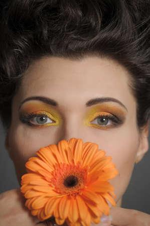 Flower Woman Stock Photo - 13135274