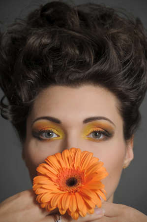 Flower Woman Stock Photo - 13135030