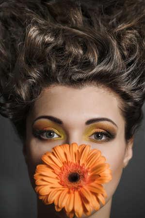 Flower Woman Stock Photo - 13135285