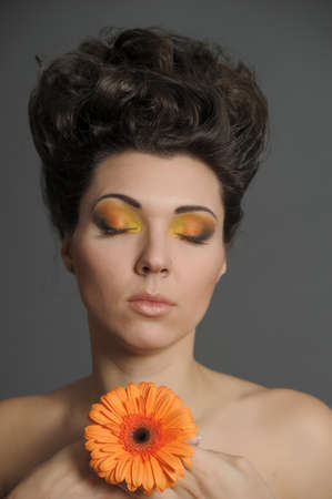 Flower Woman Stock Photo - 13157733